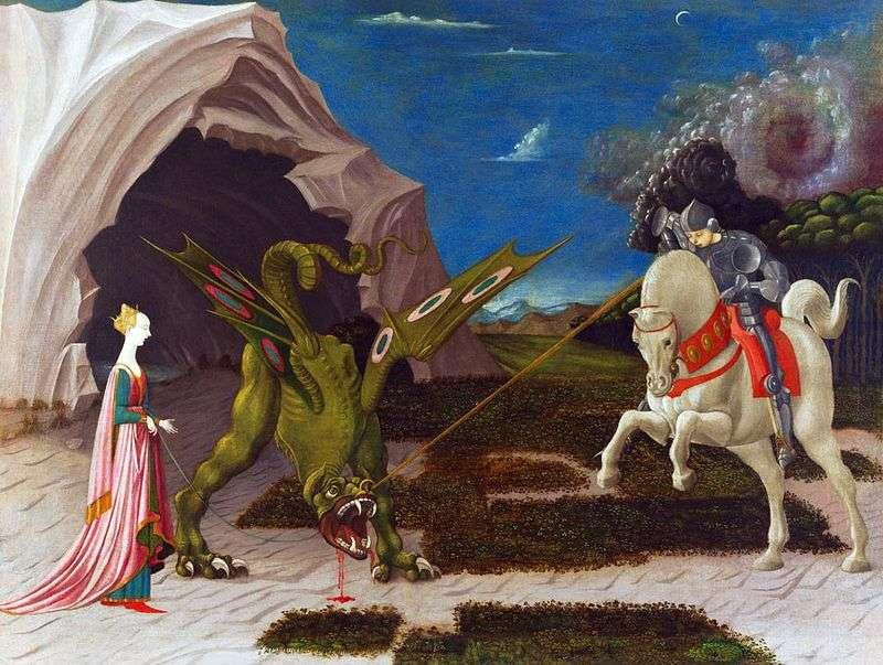 Bitwa pod St George z Dragon   Paolo Uccello