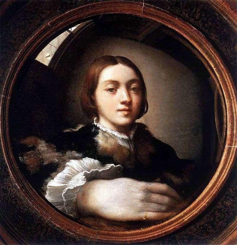 Autoportret w wypukłym lustrze   Francesco Parmigianino