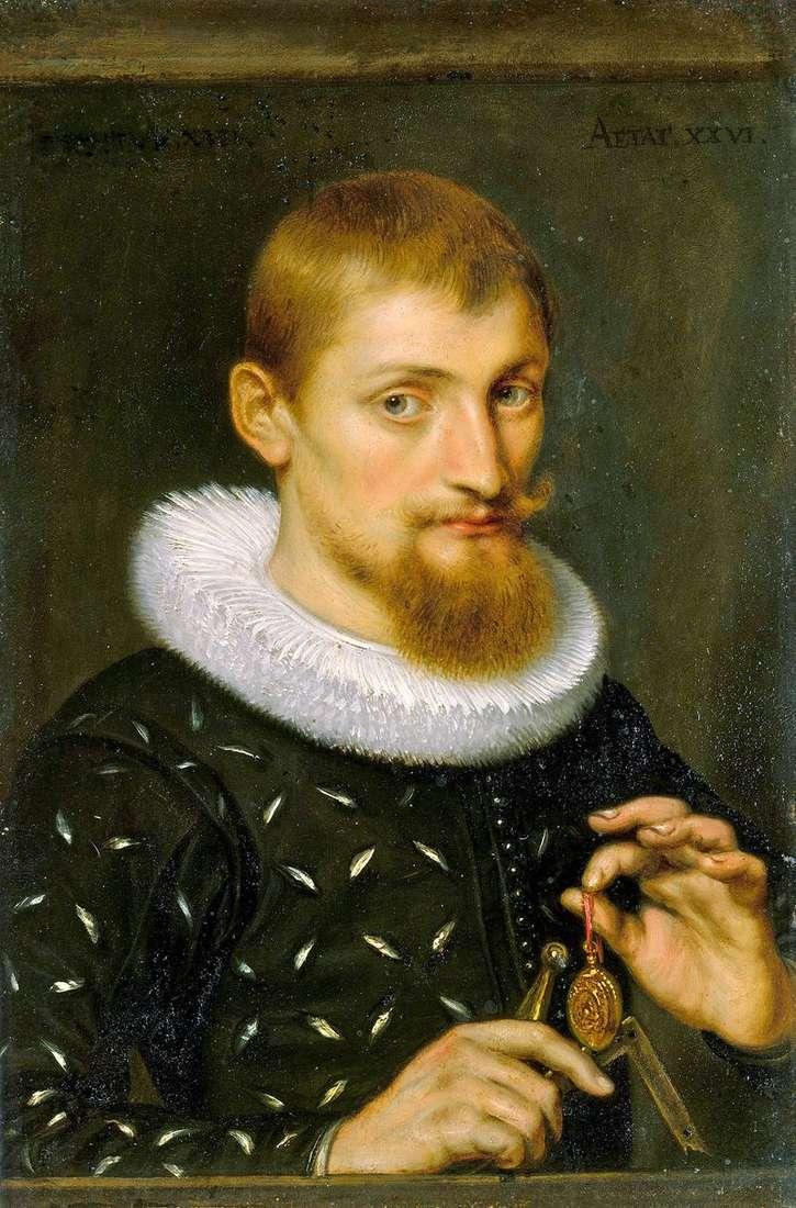Portret mężczyzny   Peter Rubens