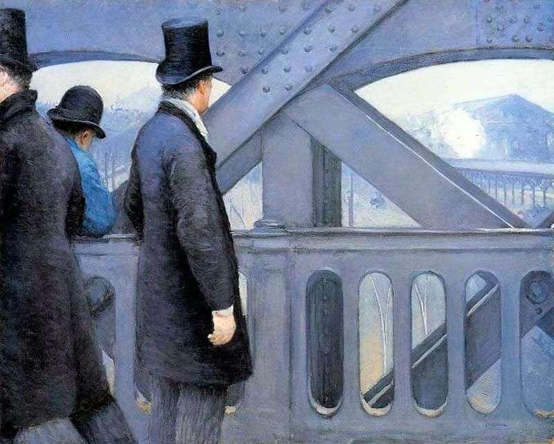 Na moście Europy   Gustave Caibotte