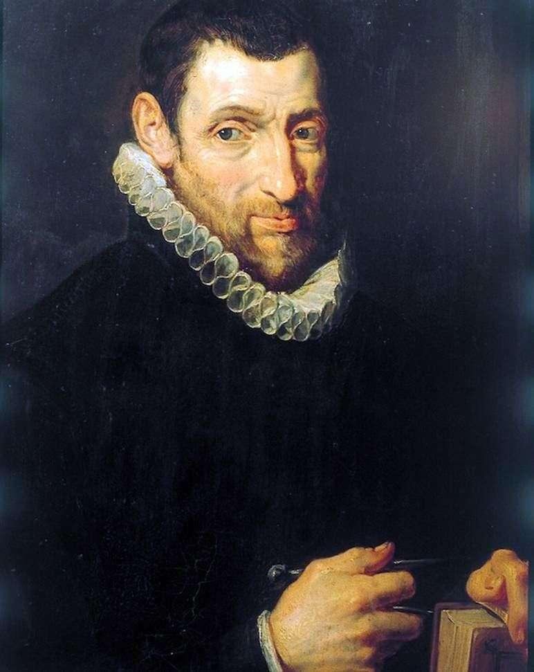 Portret Christoffela Plantina (Christoffel Rlantin)   Petera Rubensa