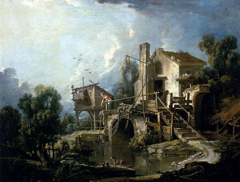 Sharaton Mill   Francois Boucher
