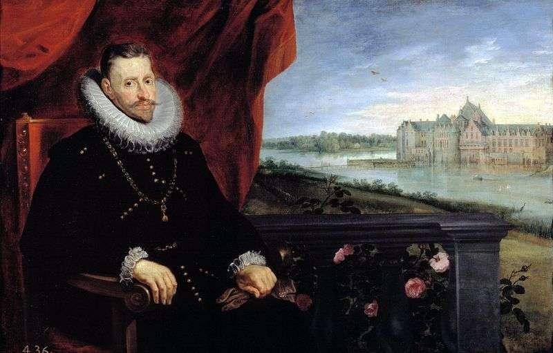 Portret arcyksięcia Alberta   Petera Rubensa