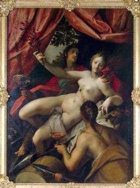 Alegoria pokoju, sztuki i obfitości   Hans von Aachen