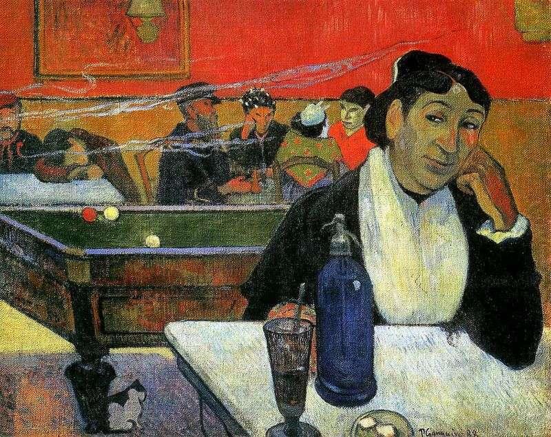Night Cafe, Arles (Nocna kawiarnia w Arles)   Paul Gauguin