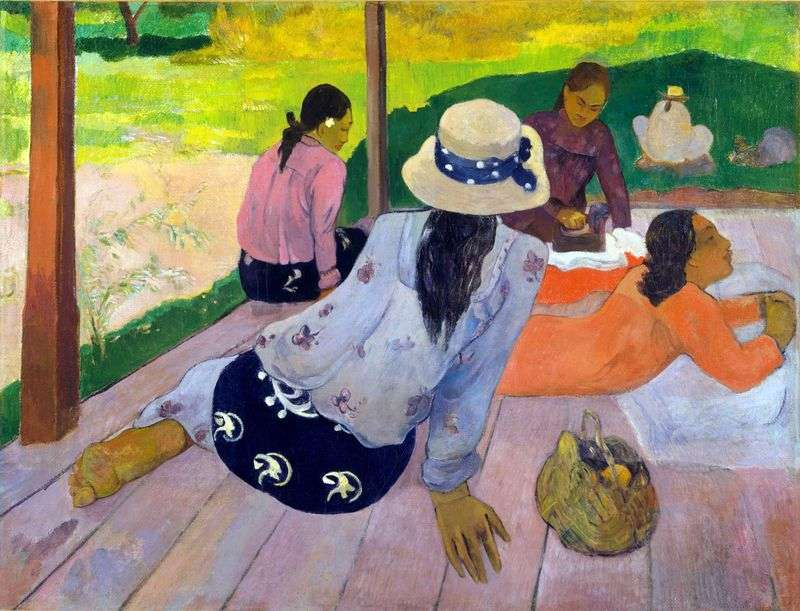 Restauracja Rest (Siesta)   Paul Gauguin