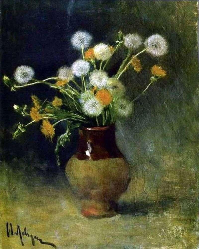 Dandelions   Isaac Levitan
