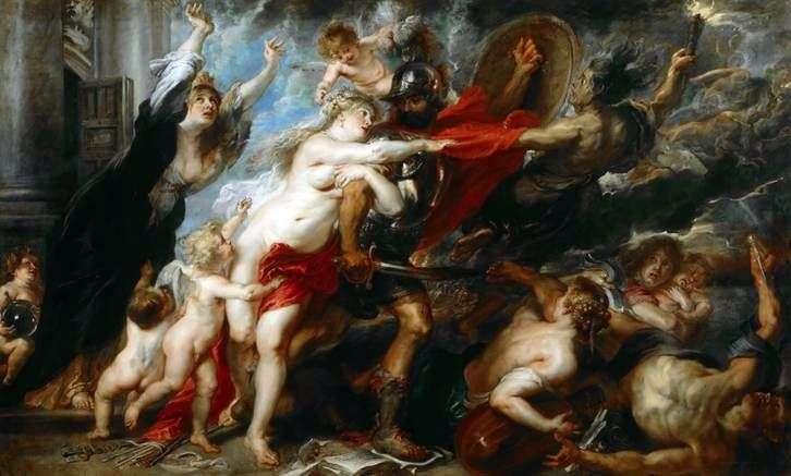 Konsekwencje wojny   Peter Rubens