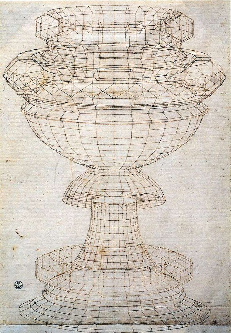Bowl Perspective   Paolo Uccello