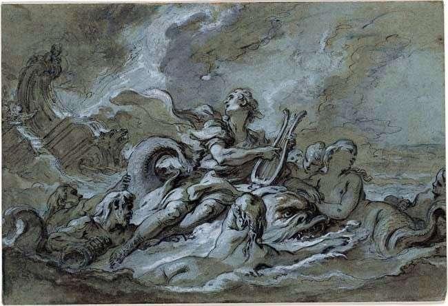Szkic Woda   Francois Boucher