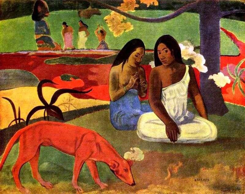 Niegrzeczny żart   Paul Gauguin