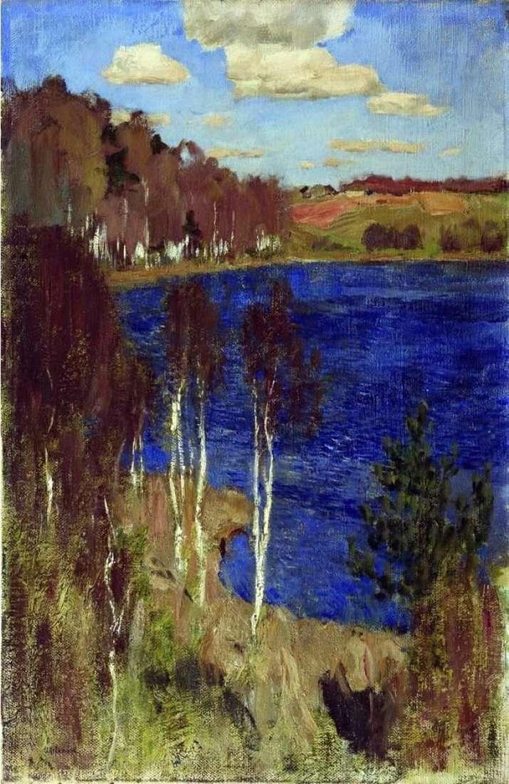 Jezioro Wiosna   Izaak Lewitan