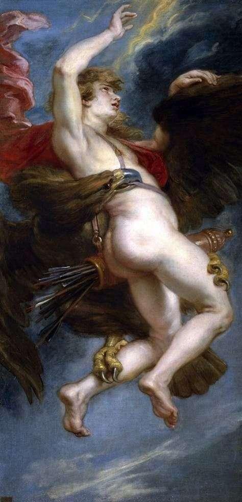 Porwanie Ganimedesa   Peter Rubens