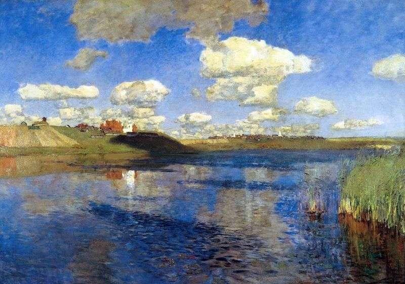 Jezioro Rus   Isaac Levitan