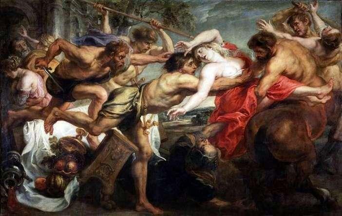 Uprowadzenie Hippodamii   Peter Rubens