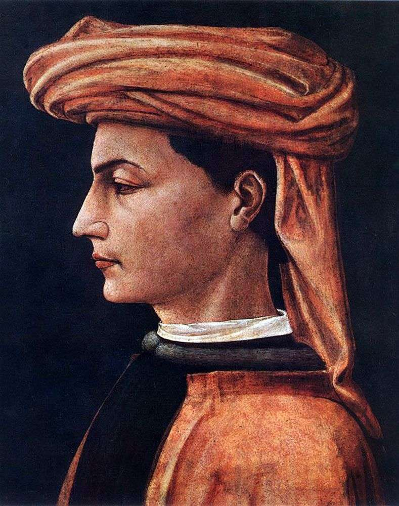 Portret młodego mężczyzny   Paolo Uccello