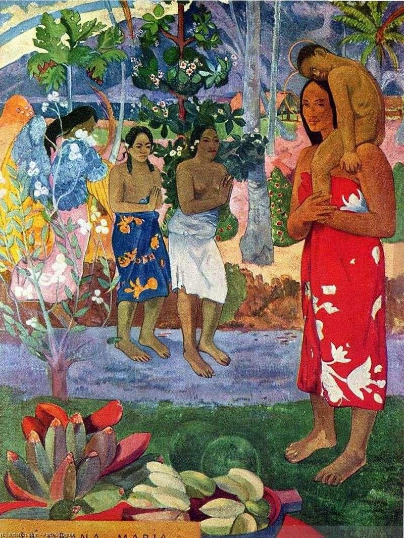 Oran Maria (Witamy Cię, Maria)   Paul Gauguin
