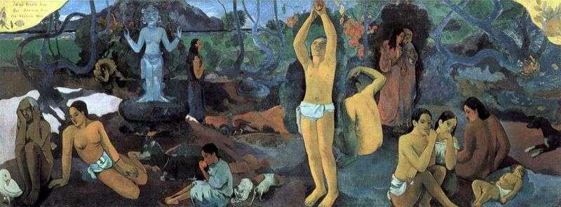 Skąd pochodzimy? Kim jesteśmy Gdzie idziemy?   Paul Gauguin