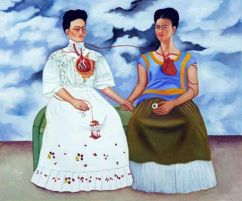 Dwie Fridy   Frida Kahlo