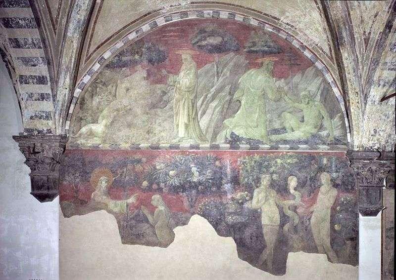 Stworzenie Adama i Ziemskich Zwierząt   Paolo Uccello