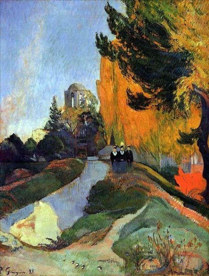 Krajobraz   Paul Gauguin