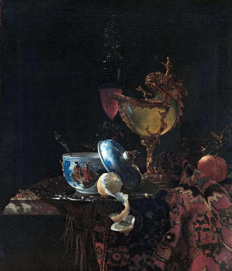 Martwa natura z muszlą perłową   Willem Calf