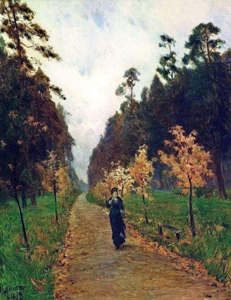 Jesienny dzień w Sokolnikach   Izaak Levitan