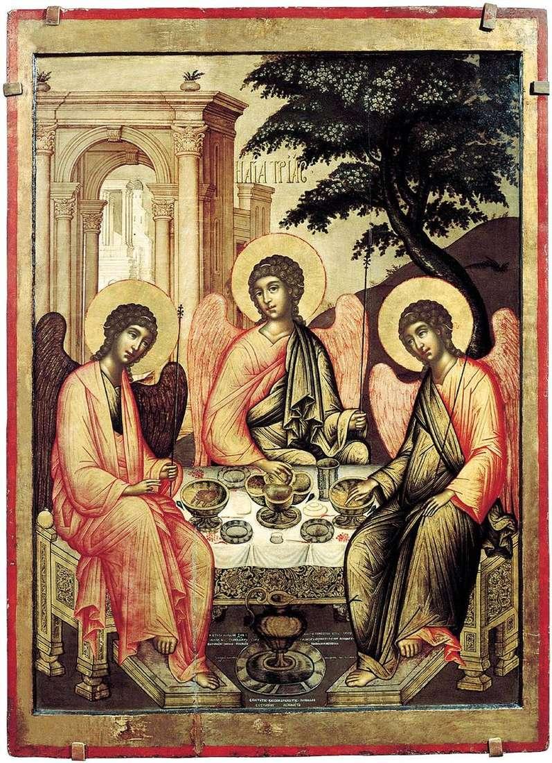 Stary Testament Trójcy   Szymon Uszakow