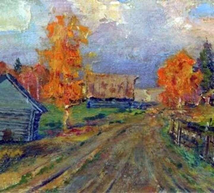 Jesienny krajobraz   Izaak Lewitan