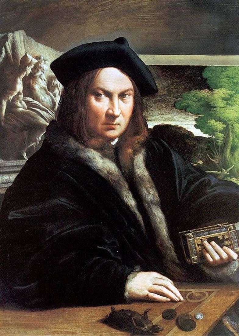 Portret mężczyzny   Francesco Parmigianino