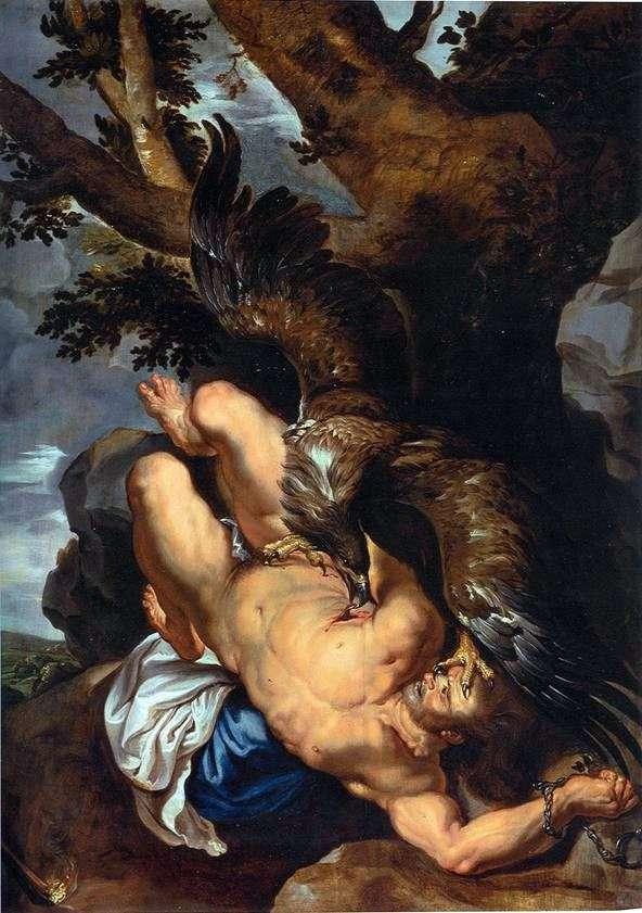 Prometheus Bound   Peter Rubens