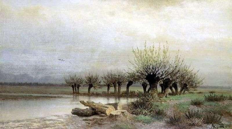 Wiosna   Lew Kamieniew