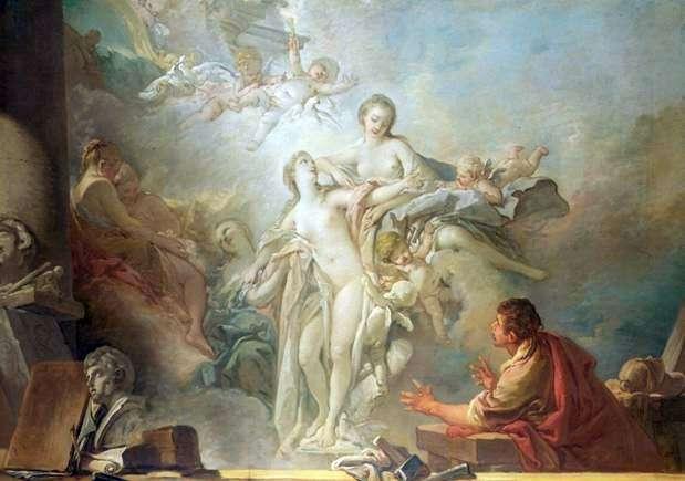 Pygmalion i Galatea   Francois Boucher