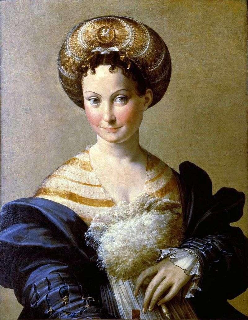 Turecki niewolnik   Francesco Parmigianino