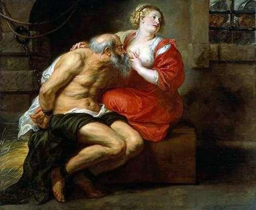Miłosierdzie Rzymskie (Zimon i Pióro)   Peter Rubens