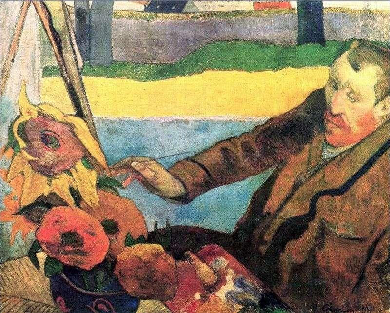 Portret Van Gogha   Paul Gauguin