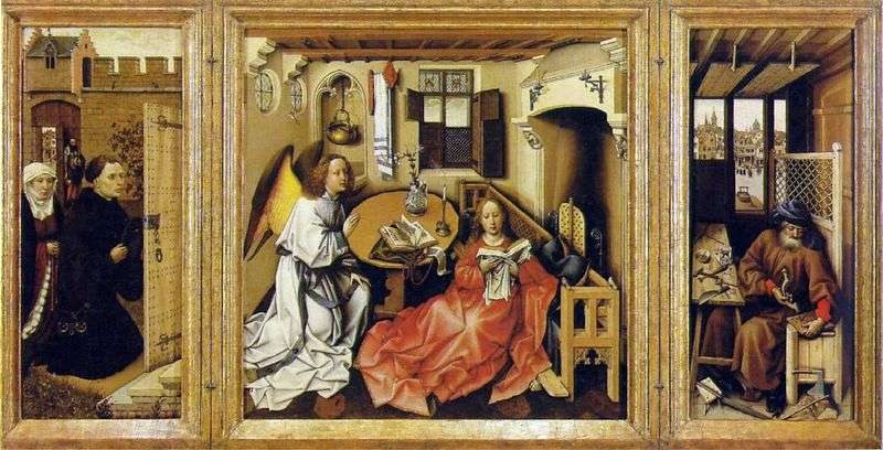 Zwiastowanie (Altar Merode)   Robert Kampen