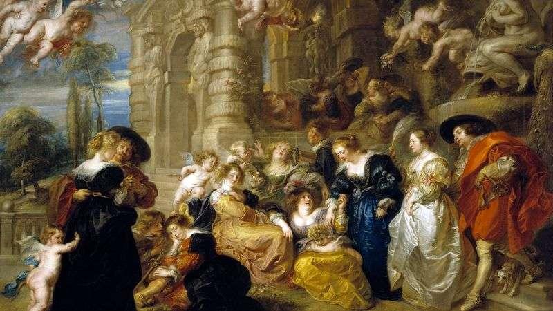 Love Garden   Peter Rubens
