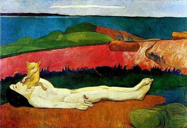Strata niewinności   Paul Gauguin
