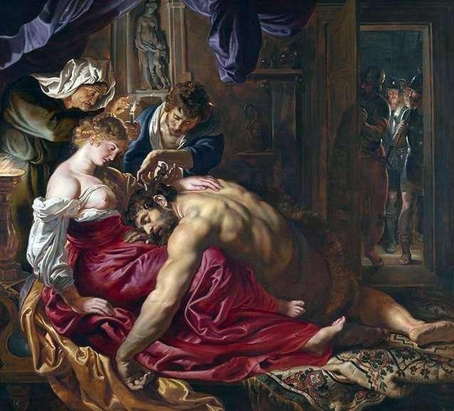 Samson i Delilah   Peter Rubens