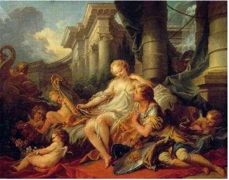 Rinaldo i Armida   Francois Boucher