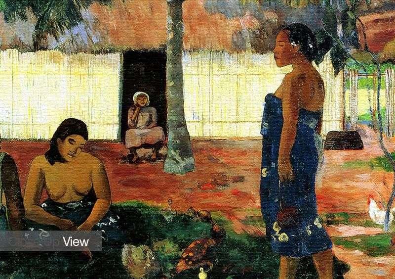 Dlaczego jesteś zły?   Paul Gauguin