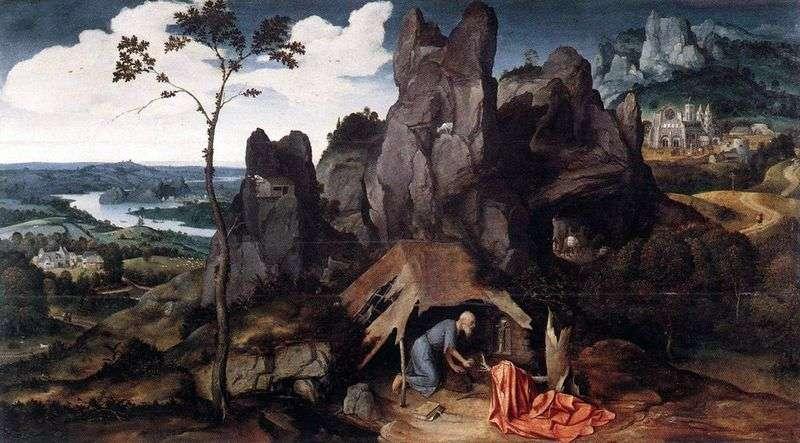 Św. Hieronim na pustyni   Joachim Patinir