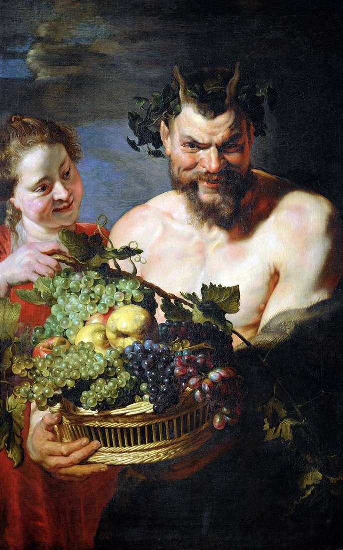 Satyr and Girl   Peter Rubens