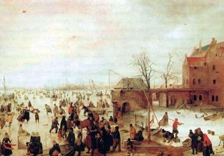 Zimowa zabawa   Hendrik Averkamp