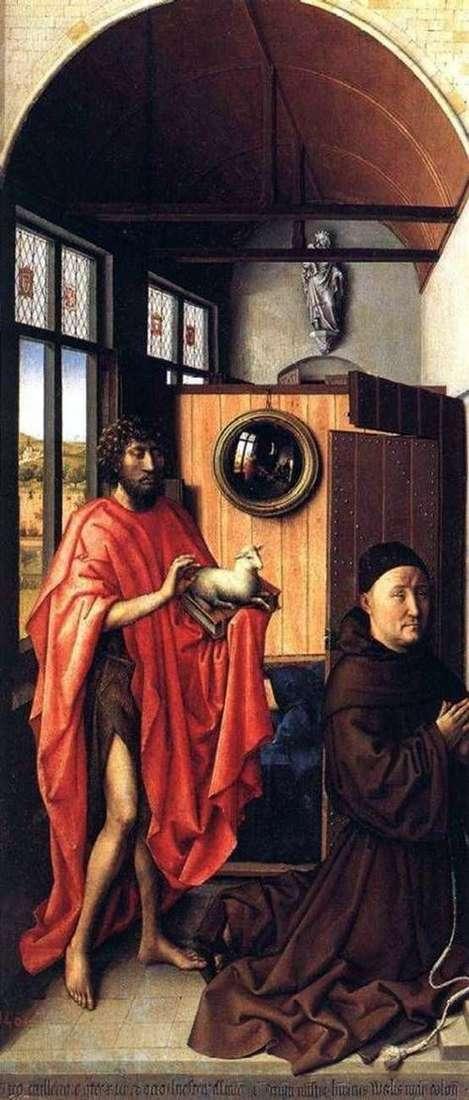 John the Baptist i Heinrich von Werl   Robert Kampen