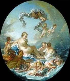Triumph of the Goddess Venus   Francois Boucher