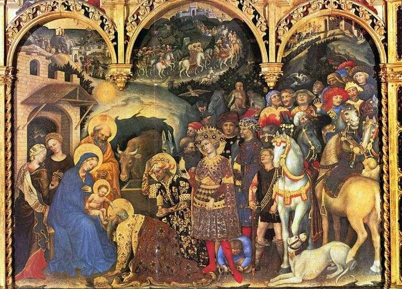 Pokłon Trzech Króli   Gentile da Fabriano