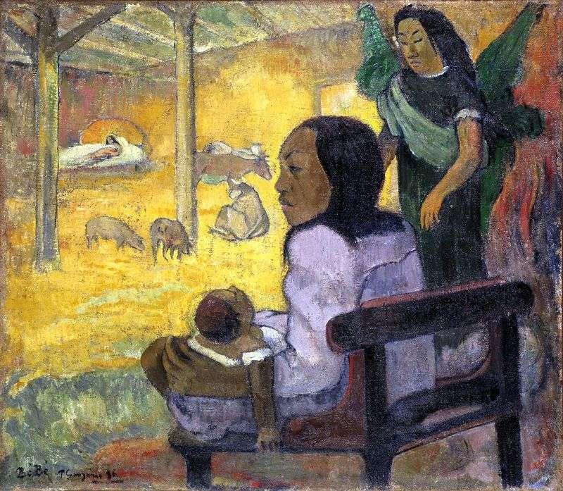 Dziecko (Boże Narodzenie)   Paul Gauguin