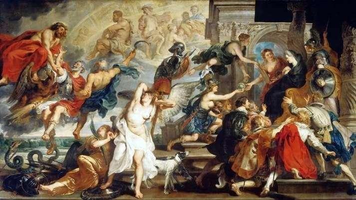 Śmierć Henryka IV i proklamacja regencji   Peter Rubens